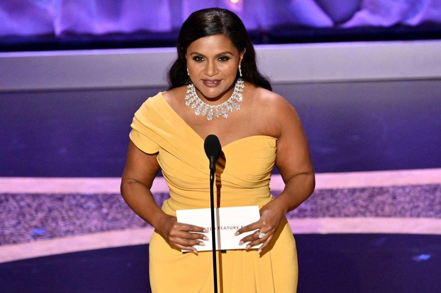 Mindy Kaling Academy Awards Oscars