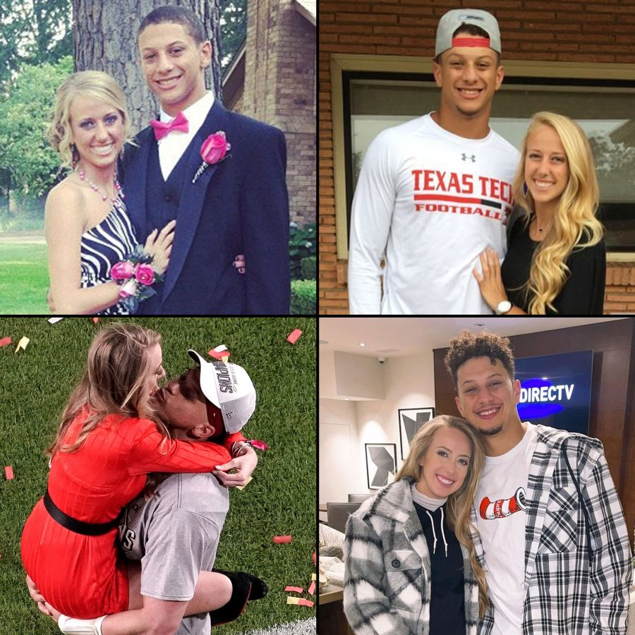 Patrick Mahomes and Brittany Matthews Relationship Timeline