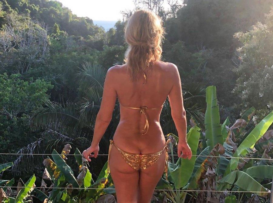 Paulina Porizkova, 55, Shares Inspiring Message in Teeny Bikini