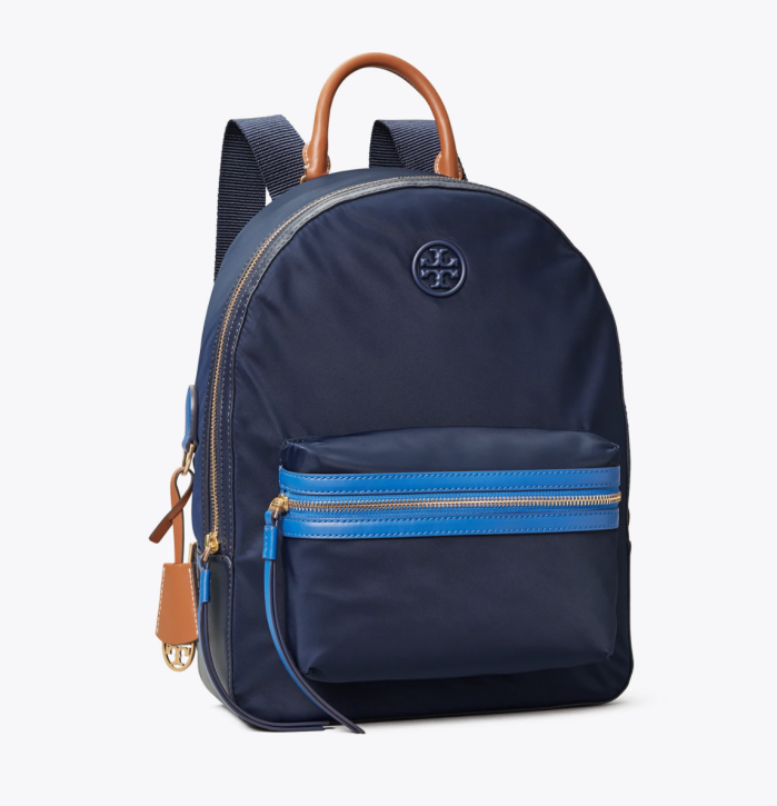 Perry Nylon Zip Backpack