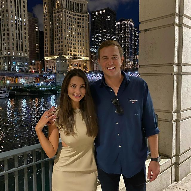 Peter Weber, alumno de 'Bachelor', dice que está en 'buenos términos' con su ex Kelley Flanagan después de la reunión del Super Bowl