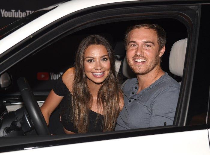 Peter Weber y Kelley Flanagan vistos juntos en Tampa un mes después de su separación