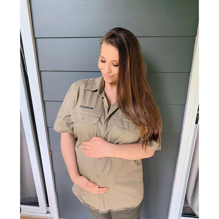 La embarazada Bindi Irwin dice que el padre fallecido Steve Irwin inspiró el apodo de su hija