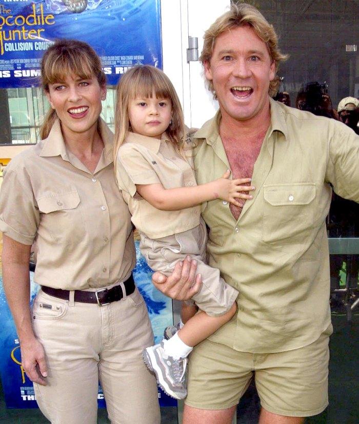 La embarazada Bindi Irwin dice que el difunto papá Steve Irwin hubiera sido un buen abuelo 1