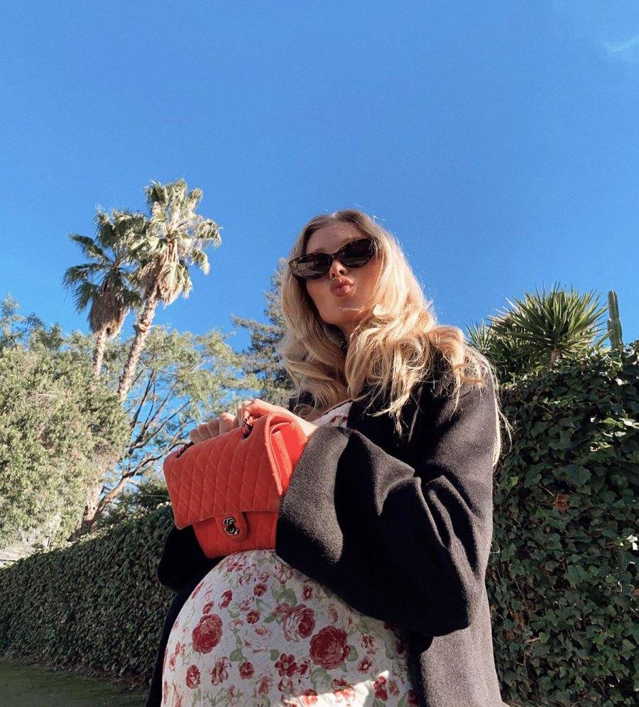 See VS Model Elsa Hosk and More Pregnant Stars' 2021 Baby Bump Pics