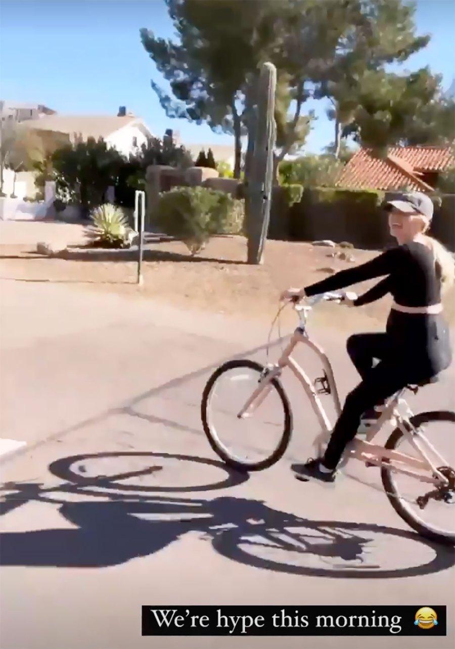 Bike Bump! See Lauren Burnham's Pregnancy Pics at 20 Weeks