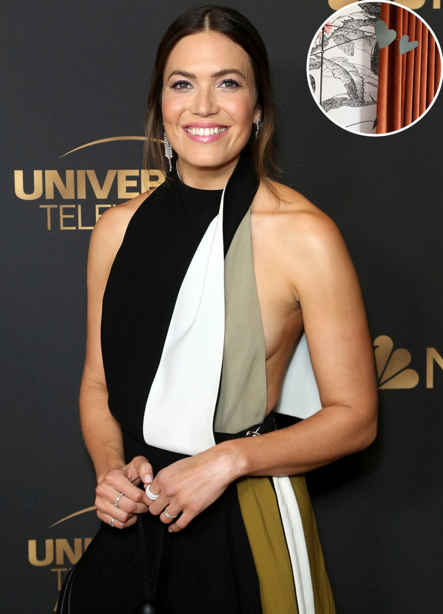 Pregnant Mandy Moore Gives Sneak Peek of Nursery Ahead of Her 1st Child's Arrival