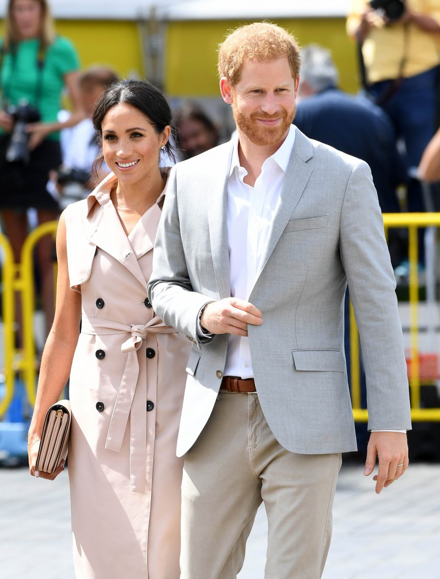 Prince Harry and Meghan Markle's Charitable Work Throughout the Years