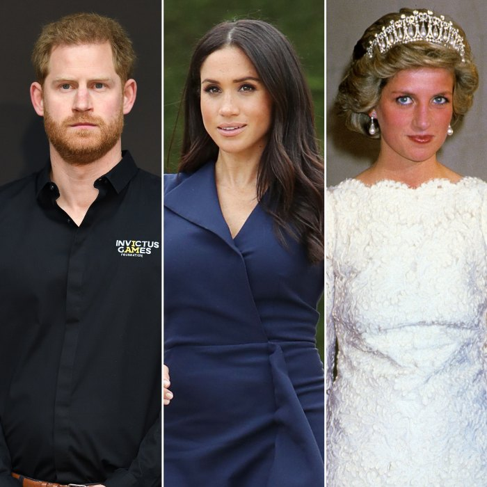 Prince Harry and Meghan Markle Remove Princess Diana Pic From Archewell Website
