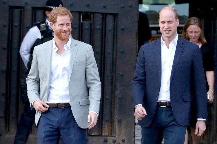 Prince Harry and William Mend Rift UK Return Visit