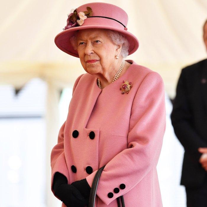 La reina Isabel II pronuncia un discurso en el día de la Commonwealth antes de la revelación del príncipe Harry y Meghan Markle