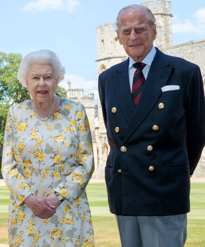 Prince William Gives Update Amid Grandfather Prince Philip Hospitalization Queen Elizabeth II