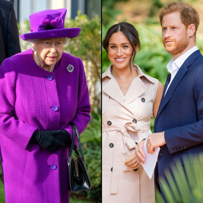Queen Elizabeth II to Air Address Same Day as Prince Harry and Meghan Sit-Down Tell-All Interview