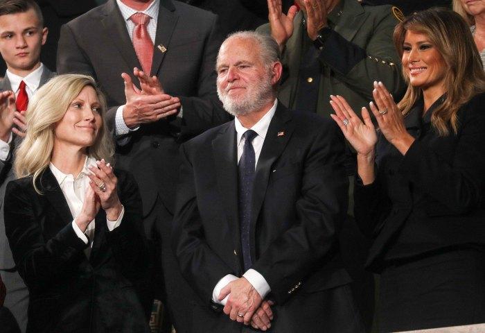 Rush Limbaugh Presidential Medal of Freedom Dead Melania Trump Wife Kathryn
