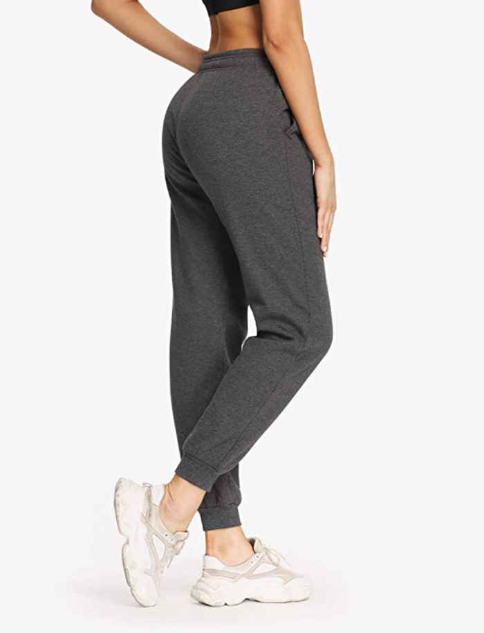 Safort Women's Sherpa Lined Joggers Sweatpants
