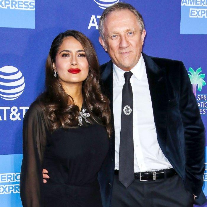 Salma Hayek niega las especulaciones de que se casó con Francois-Henri Pinault Money