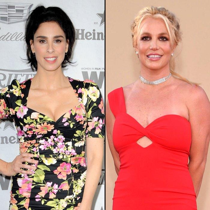 Sarah Silverman responde a la reacción violenta después de que resurgiera el asado Britney Spears de 2007