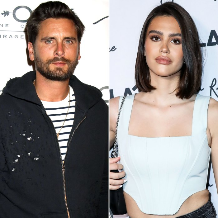 Scott Disick Debuts Blond Hair While Showing PDA With Amelia Gray Hamlin in Miami