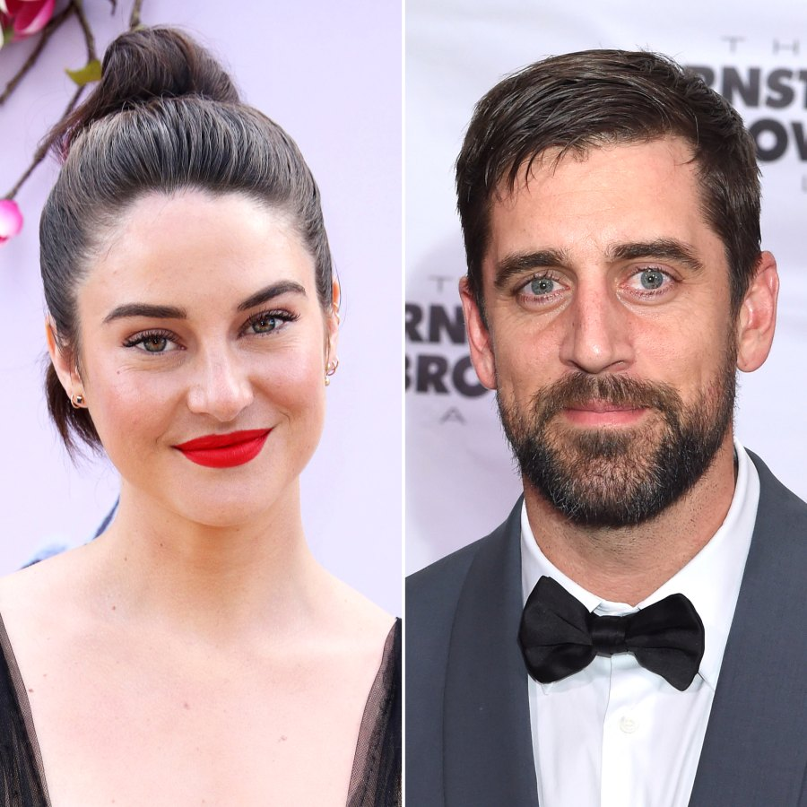 Aaron Rodgers Shailene Woodley's Complete Dating History