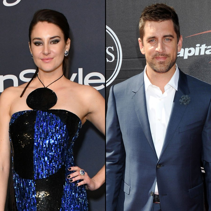 Shailene Woodley Flashes Engagement Ring From Aaron Rodgers