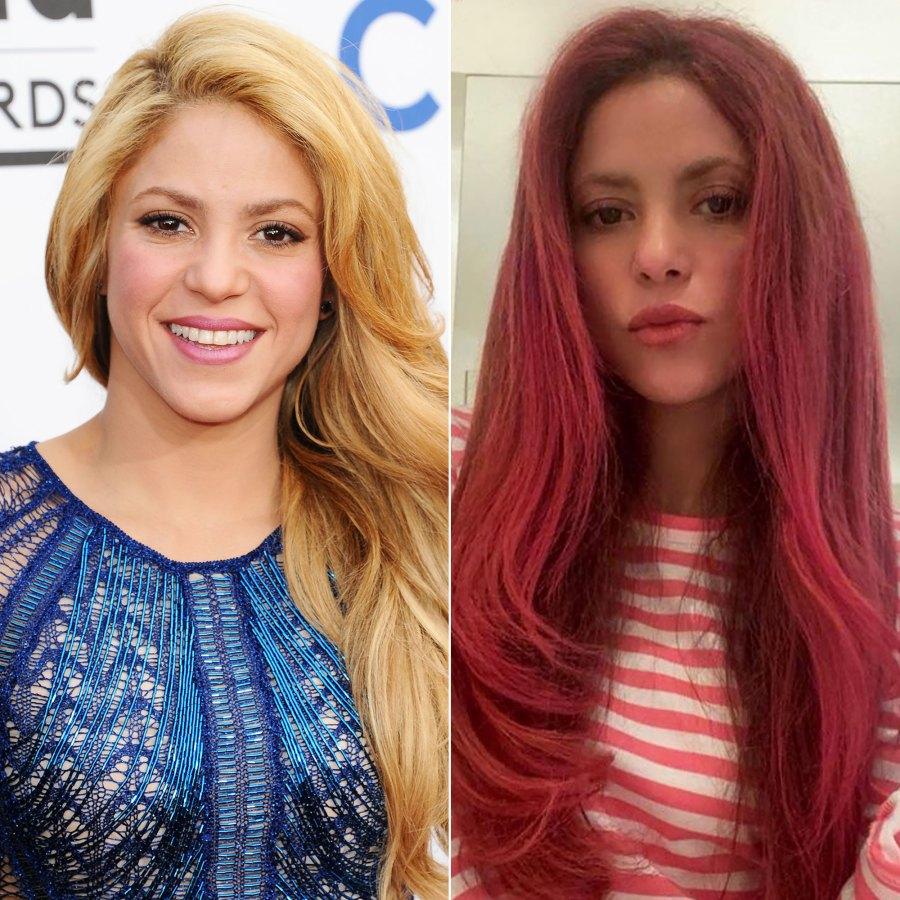 Shakira Debuts the Most Vibrant Pink Haircolor