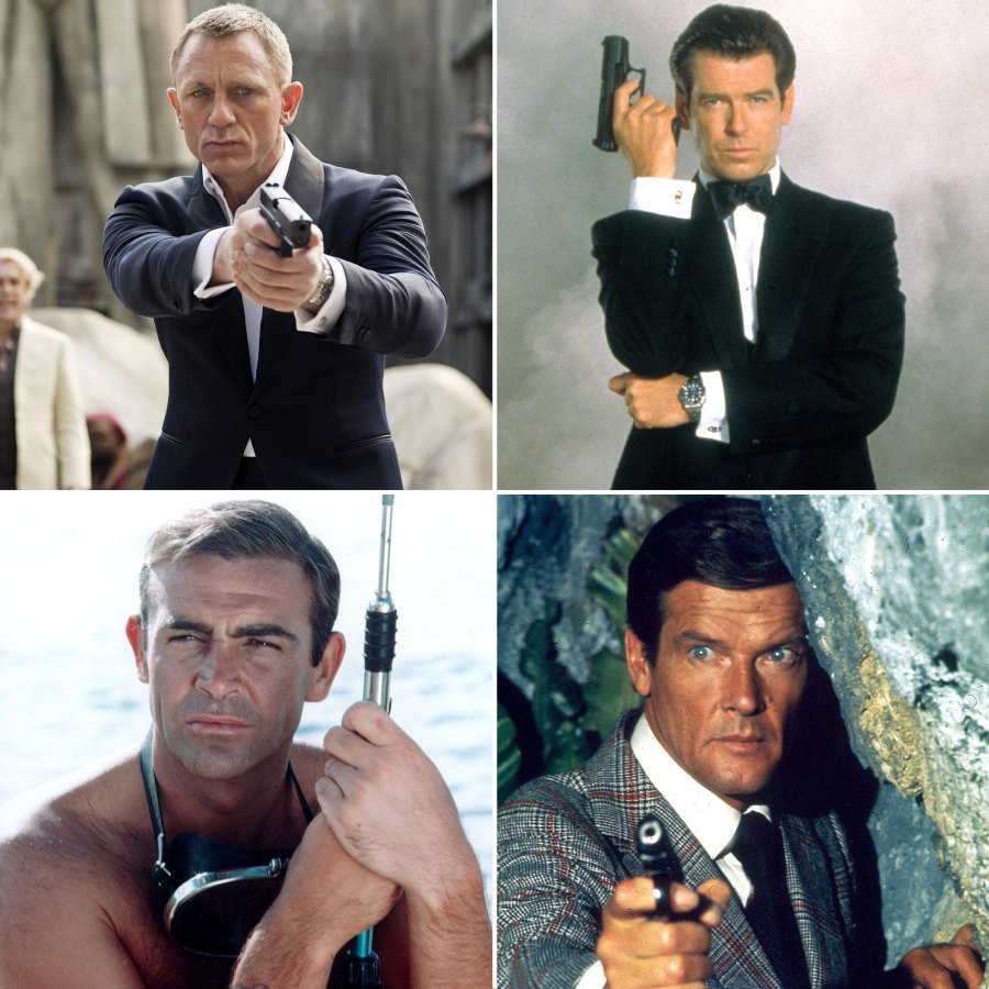 Stars Who Have Played James Bond