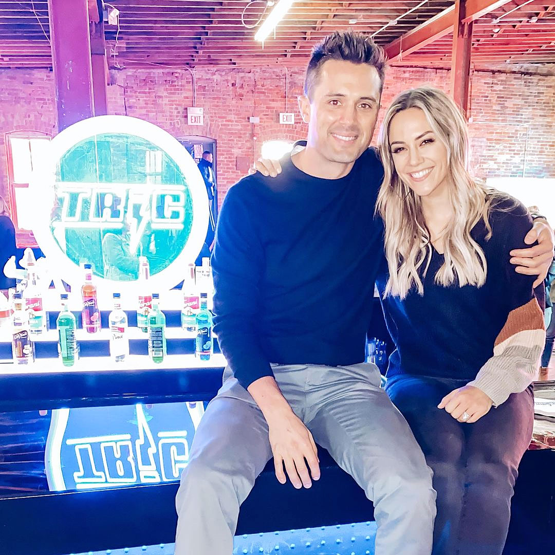 Stephen Colletti and Jana Kramer in February 2020 Jana Kramer Explains Difficult Parts of Working on 'One Tree Hill
