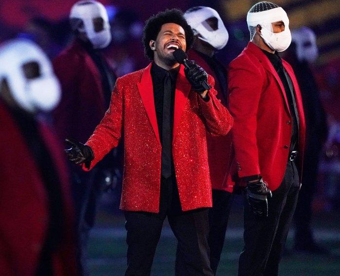 The Weeknd Halftime Super Bowl 2021
