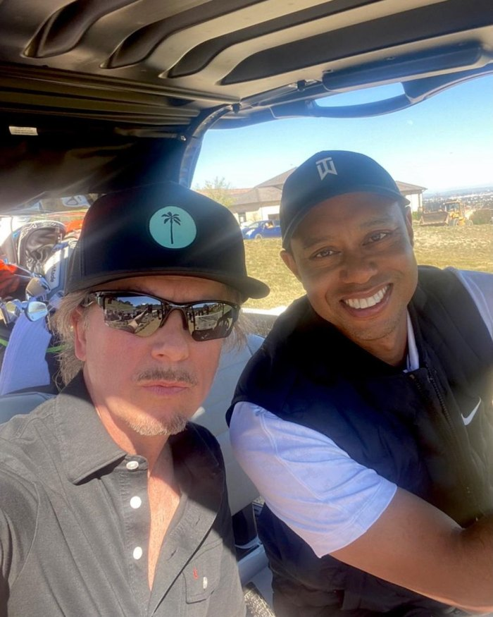 Tiger Woods Golfed With Dwyane Wade and David Spade 1 Day Prior to Crash