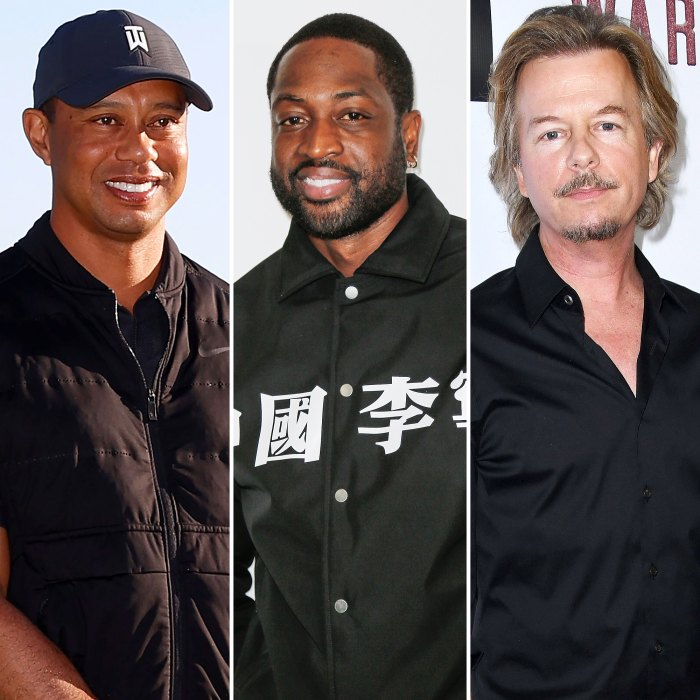 Tiger Woods Plays Golf With Dwyane Wade and David Spade 1 Day Before Car Accident 1