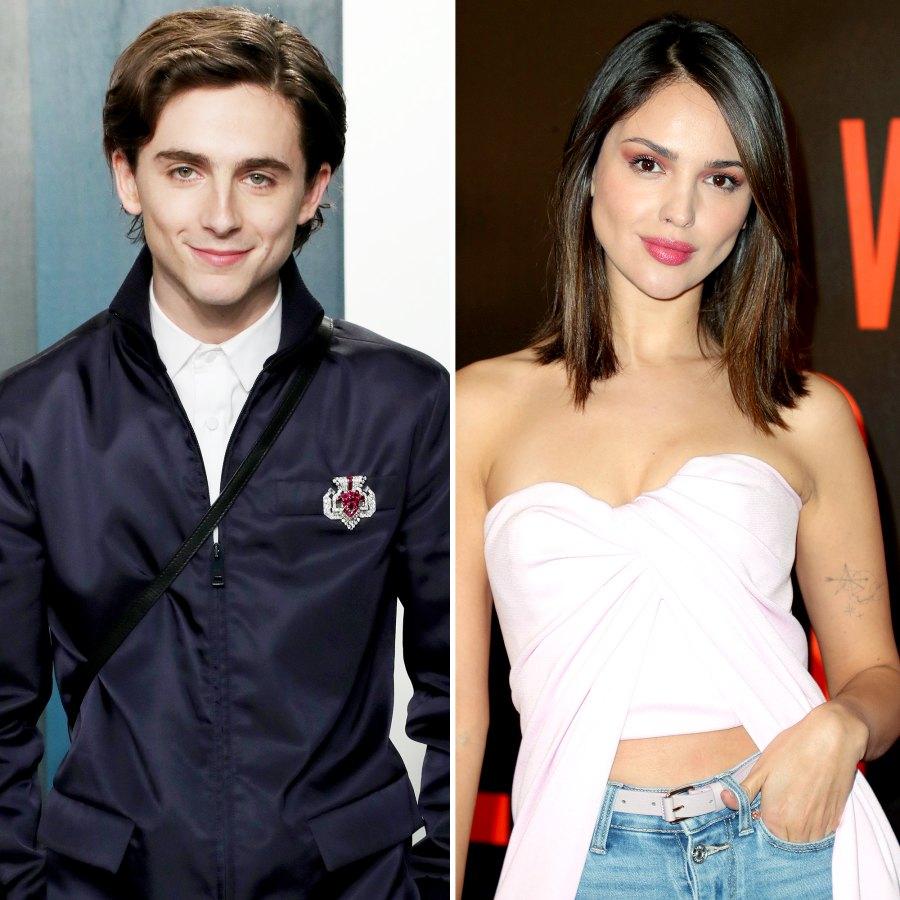 Timothee Chalamet dated Eiza Gonzalez