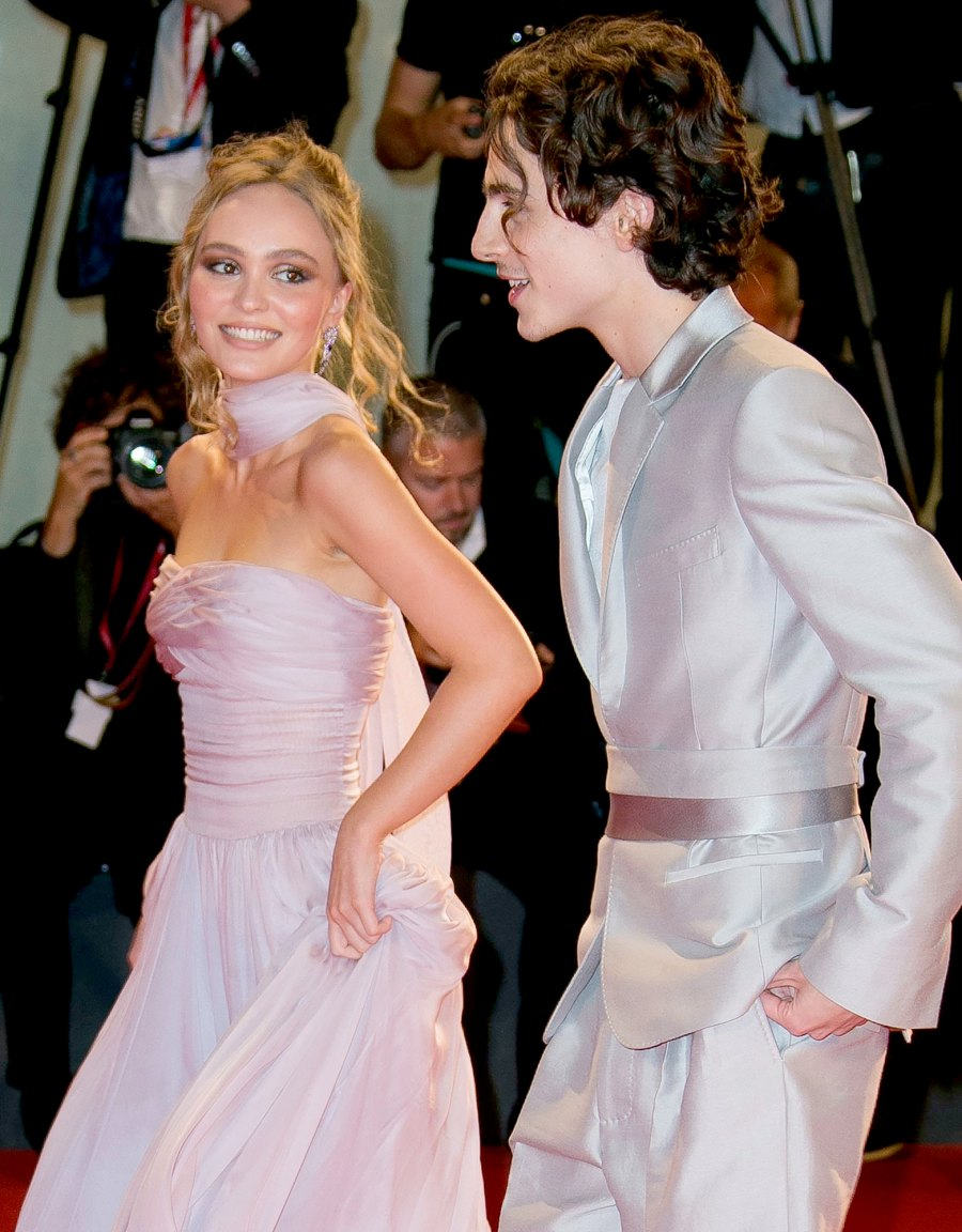Timothee Chalamet dated Lily-Rose Depp