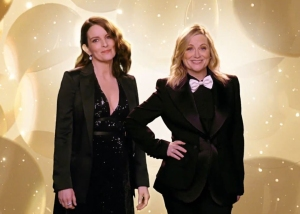 Tina Fey and Amy Poehler Slam 'Emily in Paris' in Golden Globes Monologue