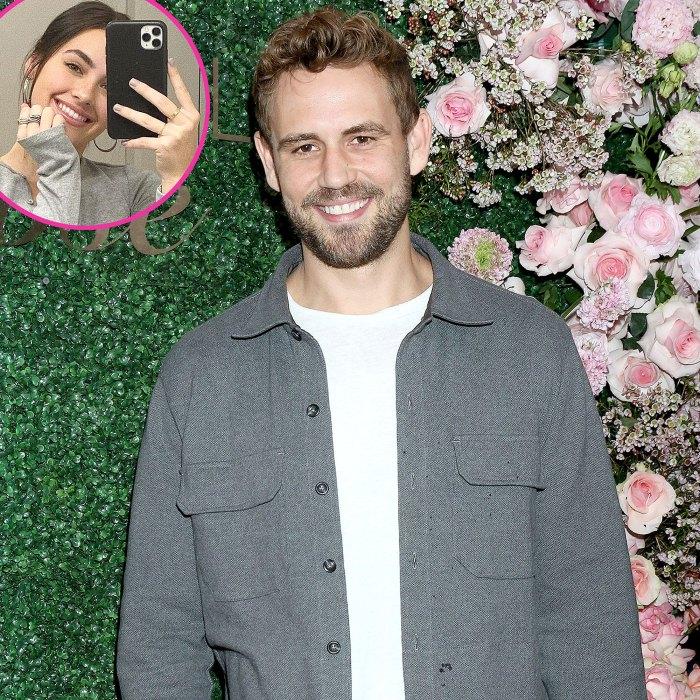 Too Cute Nick Viall Smiles He Shares Video GF Natalie Joy