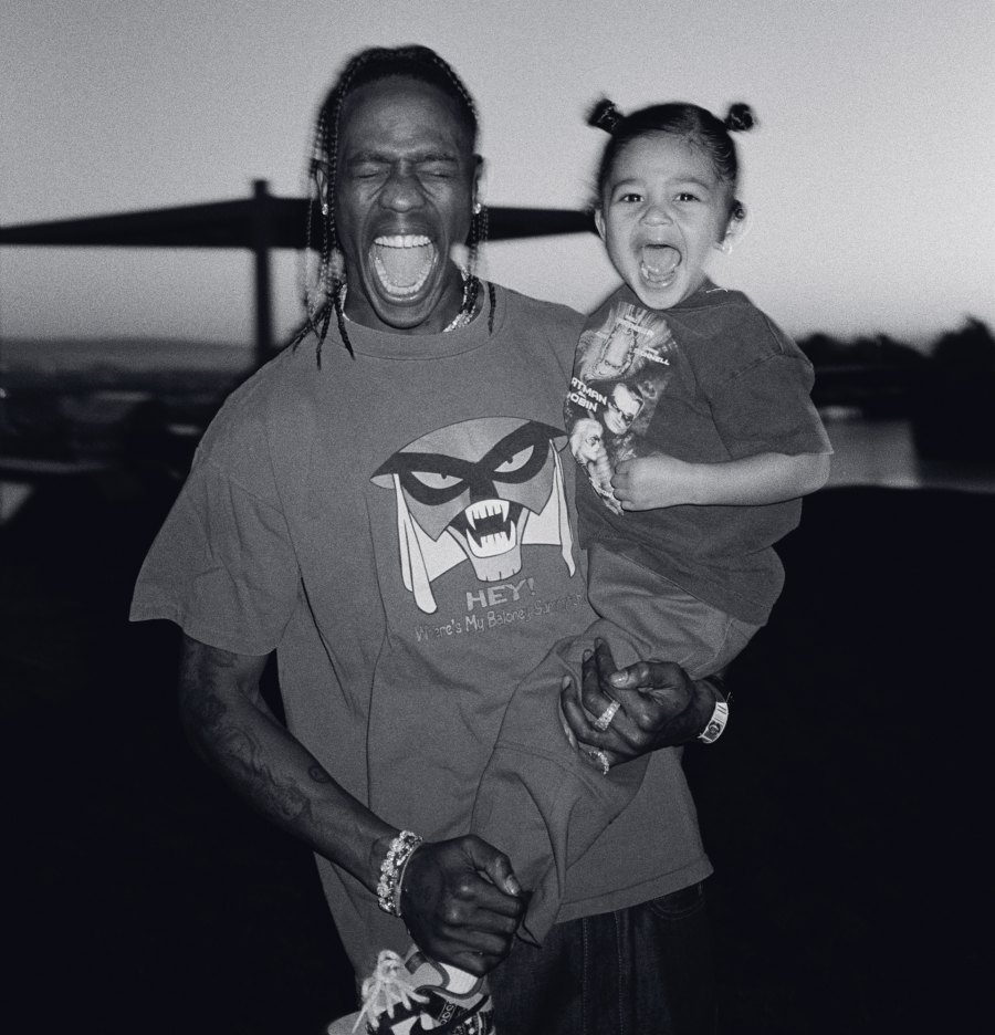 Travis Scott and Stormi Webster 2