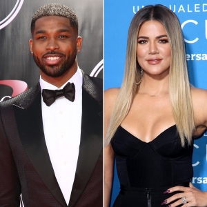 Tristan Thompson Jokes About Khloe K.'s Sexy Pic Amid Engagement Buzz