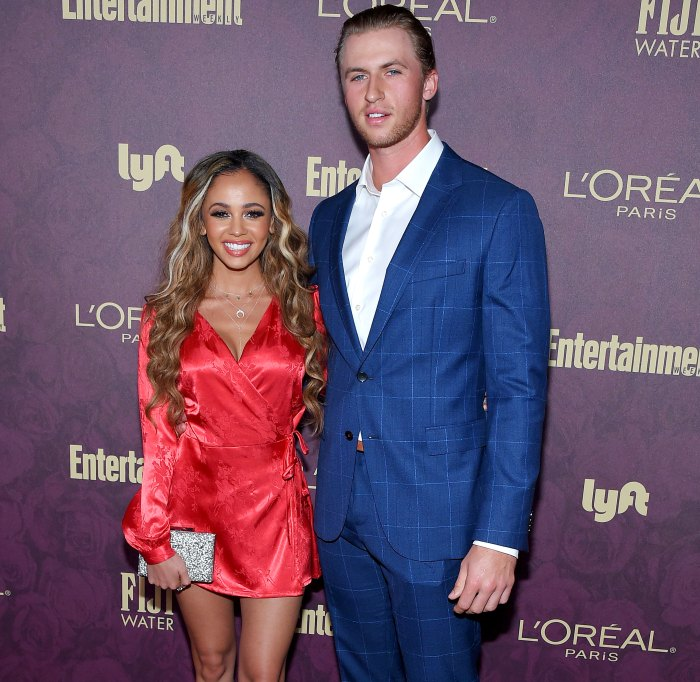 Vanessa Morgan Reveals Her and Michael Kopech's Baby Boy's Name Shares 1st Pic