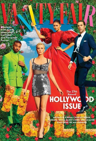 Vanity Fair's Epic Hollywood Cover Features Zendaya, Daniel Levy and More