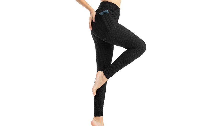 WORUIJIA Women's High Waist Yoga Pants Tummy Control Slimming Booty Leggings