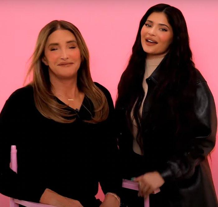Mira a Kylie Jenner hacer el maquillaje de Caitlyn Jenner por primera vez