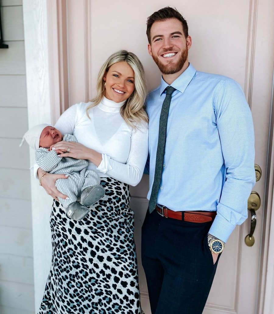 Witney Carson's Family Album With Husband Carson McAllister and Son Leo: Pics
