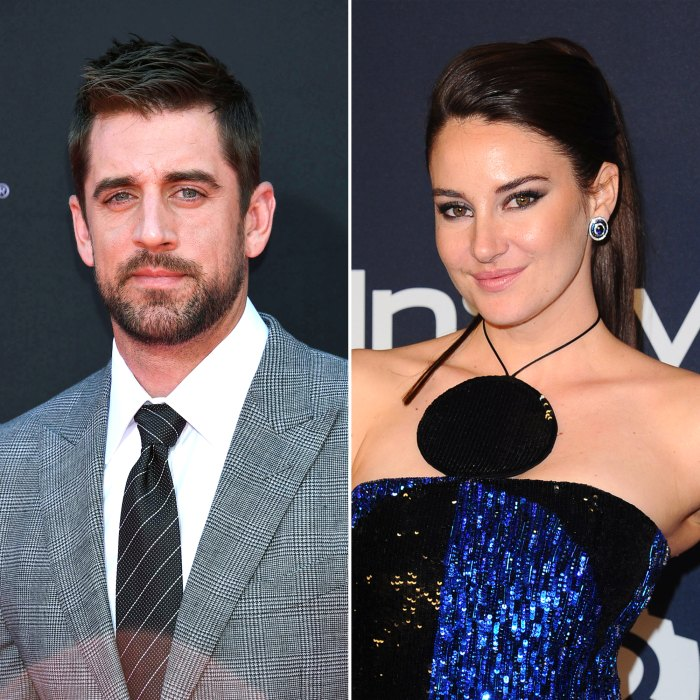 Aaron Rodgers and Shailene Woodley Confirm Their Engagement