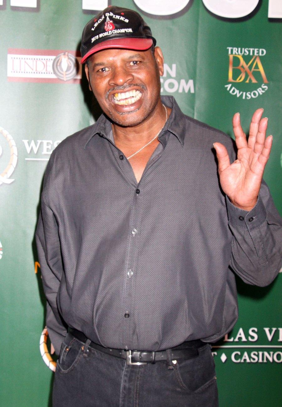 Celebrity Deaths of 2021: Leon Spinks