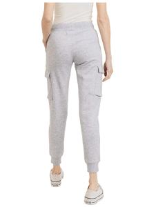 esstive Women's Ultra Soft Fleece Midweight Casual Solid Cargo Jogger Pants