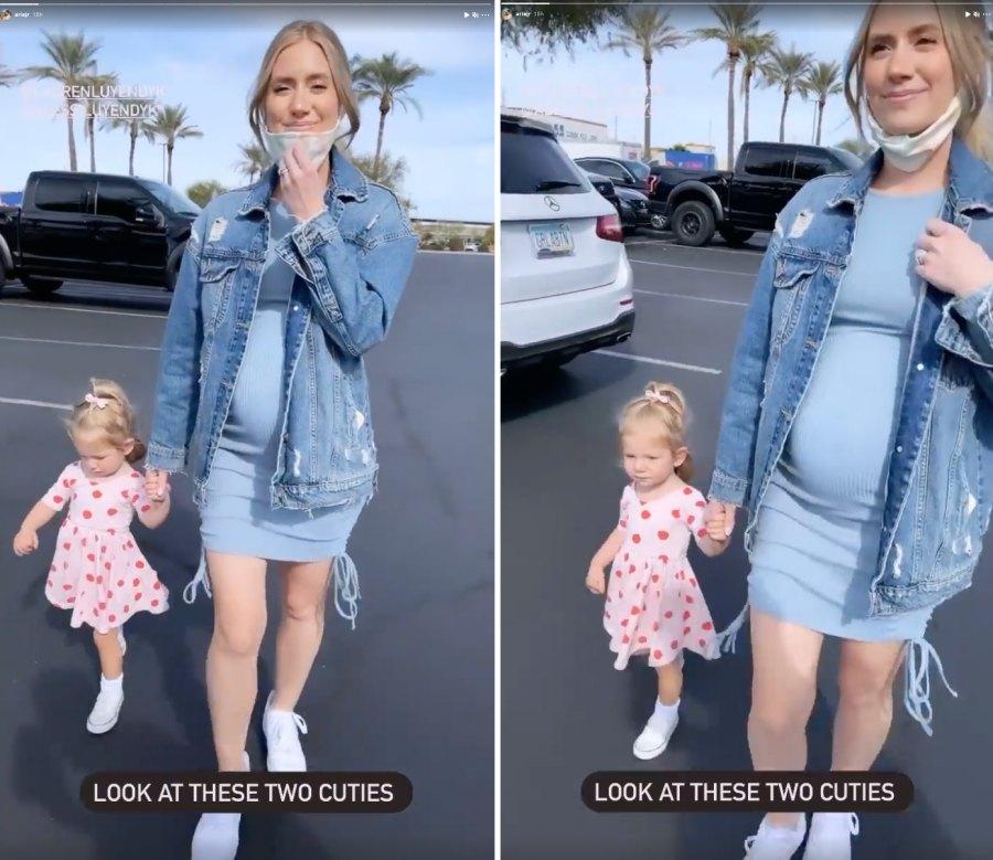 pregnant-lauren-burnhams-baby-bump-target