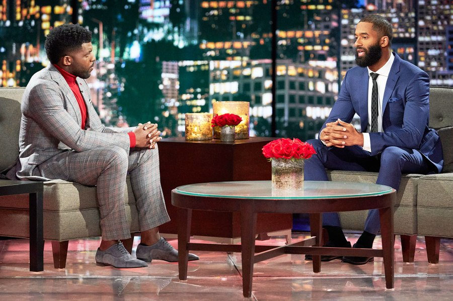 Emmanuel Acho and Matt James on After The Final Rose Matt James Admits What He Would Do Differently and More Post-Show Takeaways