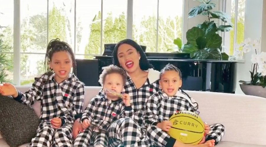 1 December 2020 Stephen Curry and Ayesha Curry's Family Album With 3 Kids