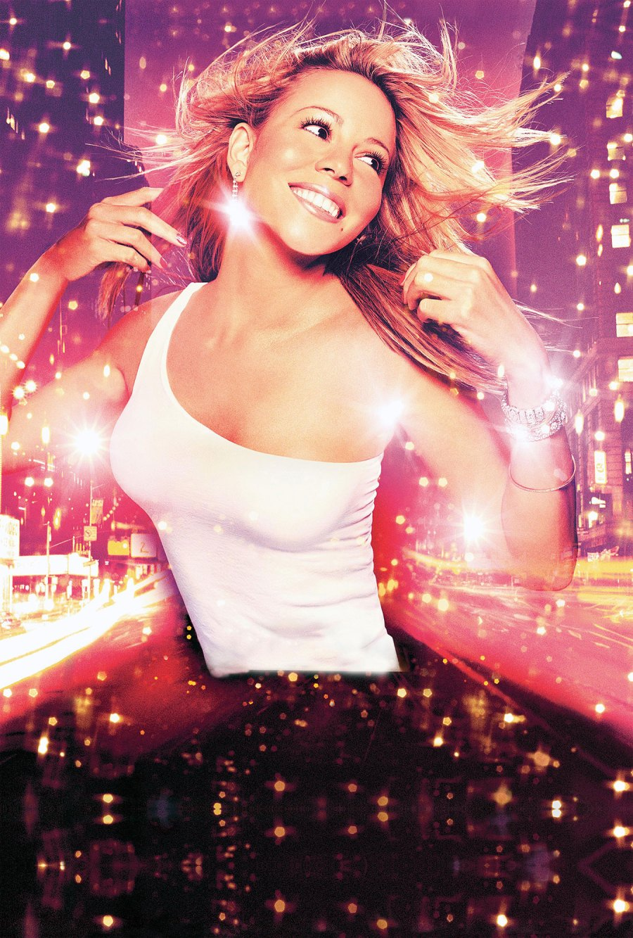 2001 Glitter Mariah Carey Through the Years
