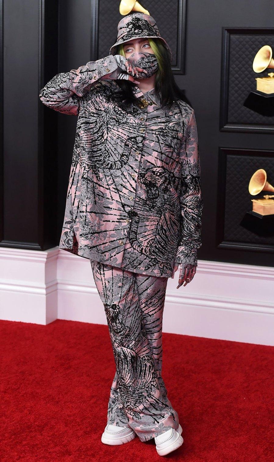2021 Grammy Awards Red Carpet Arrivals - Billie Eilish
