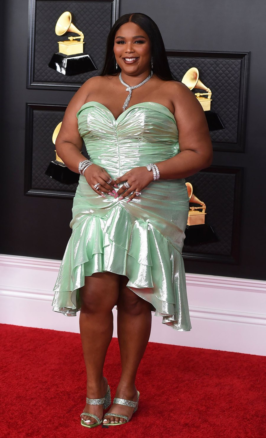 2021 Grammy Awards Red Carpet Arrivals - Lizzo